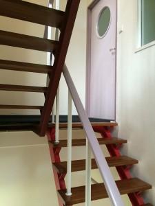 Trap op, eerste verdieping