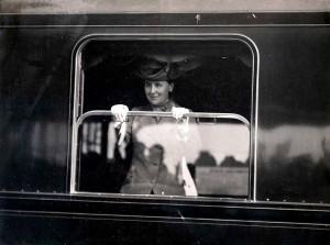 Wilhelmina Station Alkmaar 18 mei 1914 vertrek