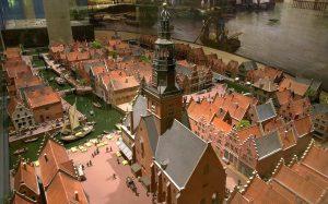 Maquette Stedelijk Museum Waagplein 17e-eeuw